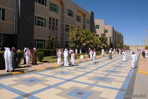 جامعة الملك خالد تستقبل أكثر من ٧٠ ألف طالب وطالبة