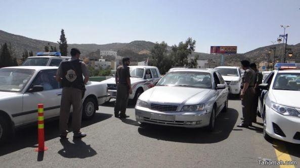 شرطة عسير تضبط 3 مكاتب حج وهمية وتسعة سماسرة وافدين