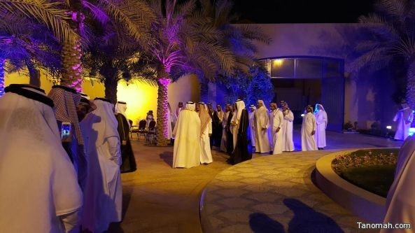 الشيخ علي بن سليمان يحتفي بزواج عبدالعزيز