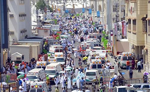 حصيلة حادث منى يرتفع إلى 717 حالة وفاة و إصابة 863 شخصاً