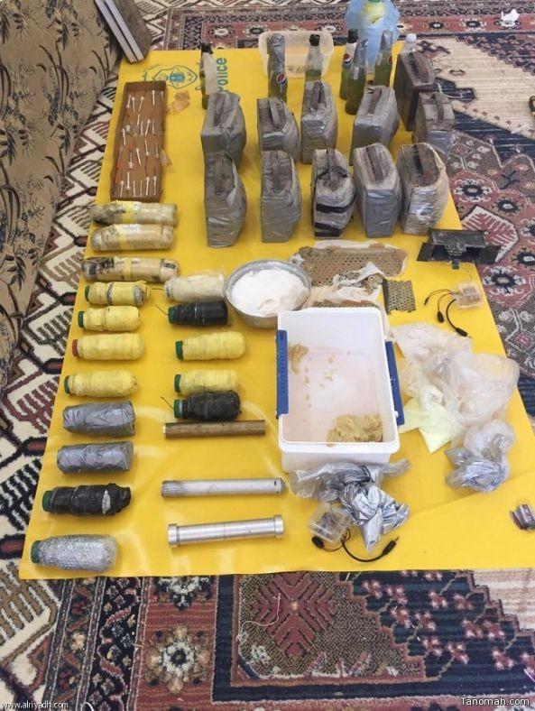 الداخلية: كشف خلية إرهابية مكونة من خمسة أشخاص بالرياض والدمام
