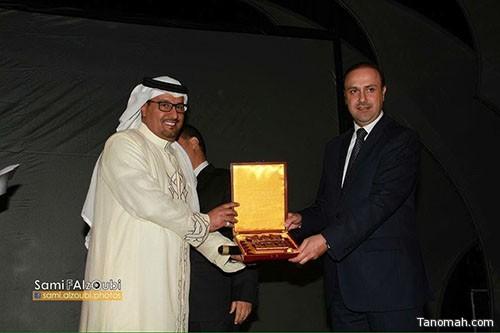 مهرجان الأردن الثاني يكرم الإعلامي محمد الشهري