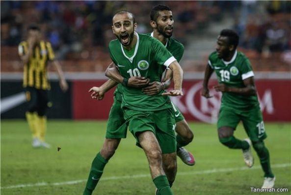 المنتخب السعودي ينتظر مؤازرة جماهيره امام الامارات