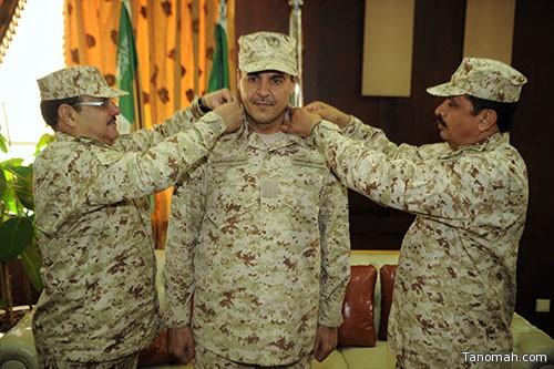 اللواء المرشان يقلد الشهري رتبة عميد