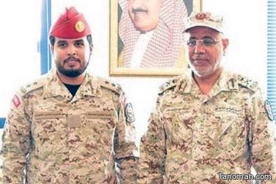 ترقية علي ناصر الشهري إلى ملازم أول