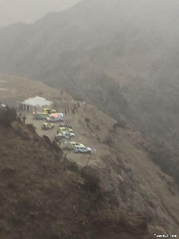 سقوط سيارة في عقبة الصما يودي بحياة قائدها