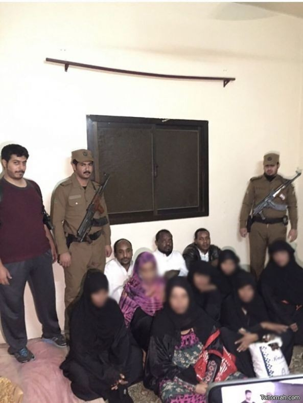 شرطة عسير تقبض على عدد من الأشخاص المجهولي الهوية بخميس مشيط