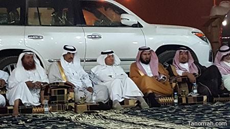 الشيخ ظافر بن خزيم يحتفي برجل الأعمال عبدالله الكيرعاني