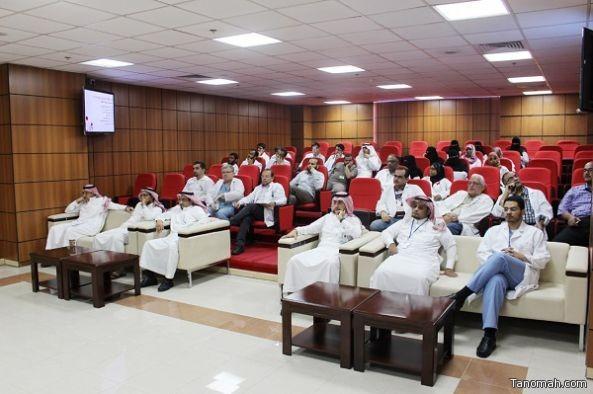 مستشفى الخميس للولادة والأطفال يكرم اطباء برنامج الزمالة الطبية السعودية