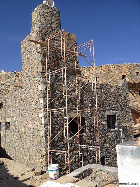 الإنتهاء من ترميم مسجد قرية آل عليان التاريخية