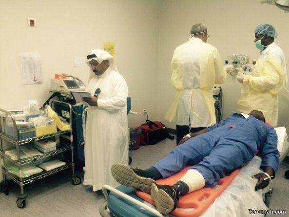 نجاح تجربة فرضية بمستشفى بللحمر العام