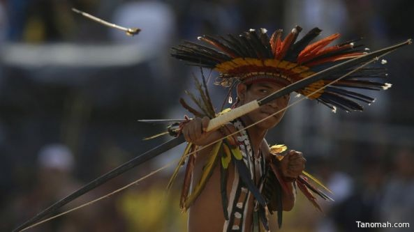 أول دورة عالمية لألعاب الهنود الحمر في البرازيل