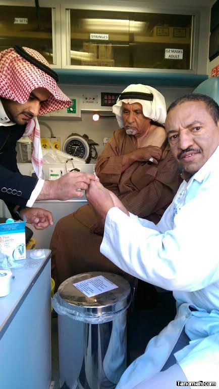 تفعيل اليوم العالمي للسكر والحملة الوطنية للتطعيم ضد الانفلونزا الموسمية بقطاع بللسمر
