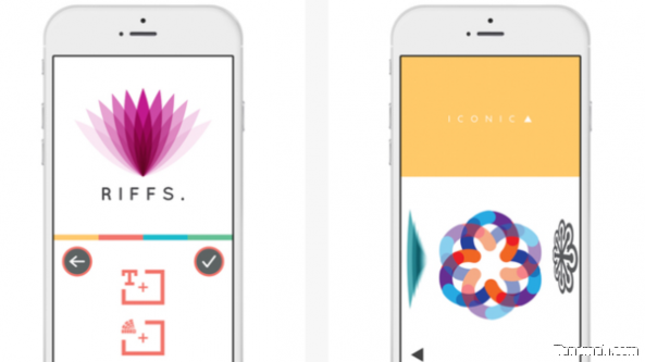 """لمستخدمي """"آيفون"""".. تطبيق LogoScopic لتصميم الشعارات"""