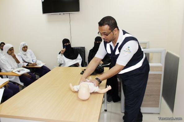 """مستشفى الخميس للولادة ولأطفال يقيم دورة """" الإنعاش القلبي الرئوي BLS """""""