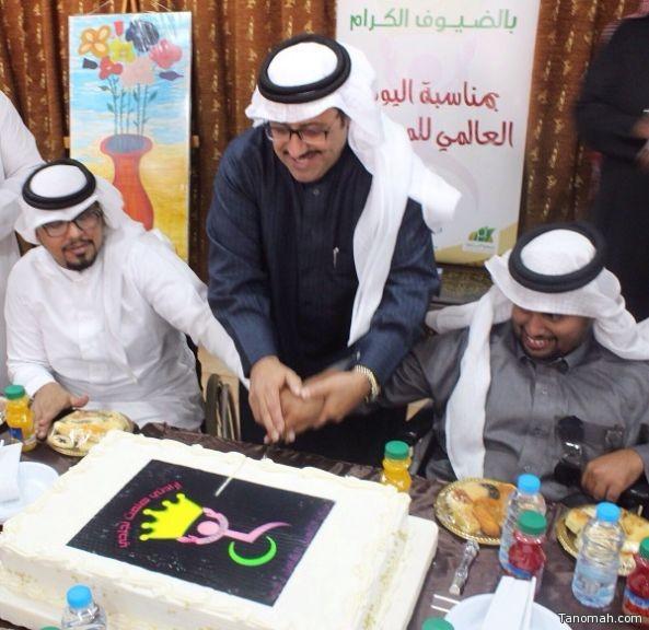 مركز التأهيل الشامل للذكور بأبها يحتفل مع نزلائه بمناسبة اليوم العالمي للإعاقة