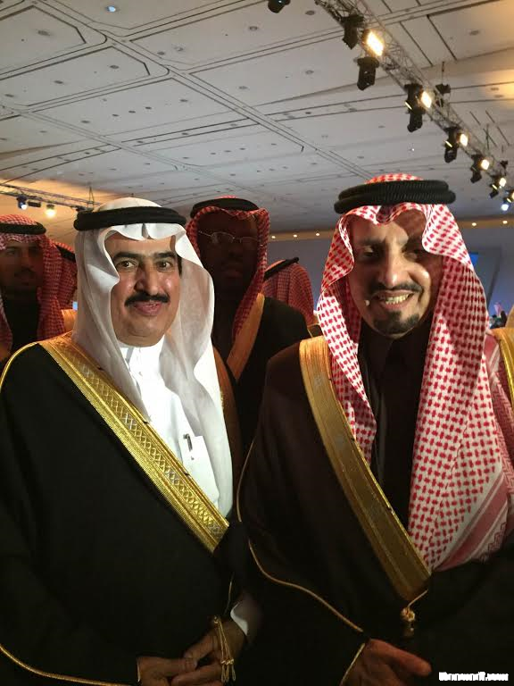 النايف يشارك في حفل جائزة الملك خالد بالعاصمة