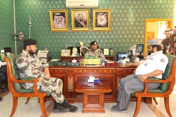 """""""جوالة """" جامعة الملك خالد في ضيافة قوات الطوارئ بعسير"""