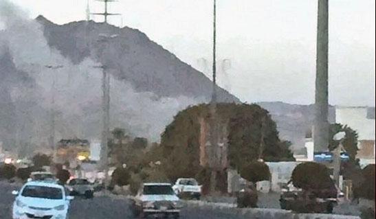 #مقذوف_عسكري من الأراضي #اليمنية يتسبب في استشها #مواطن و #وفاة عاملين بـ #نجران