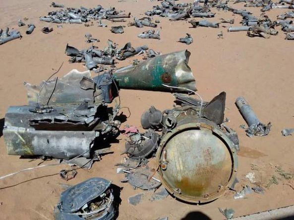 الدفاع الجوي يسقط صاروخاً قادماً من الأراضي اليمنية
