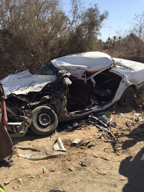 وفاتان وإصابة في حادث تصادم بـ #بيشة