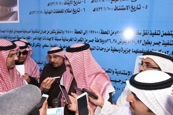 سمو أمير منطقة عسير يتفقد عدد من المشروعات التنموية في مدينة أبها الحضرية