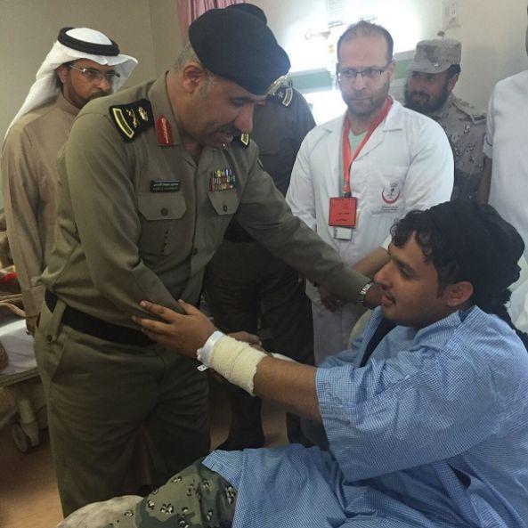 مدير شرطة عسير يتفقد المحافظات الحدودية