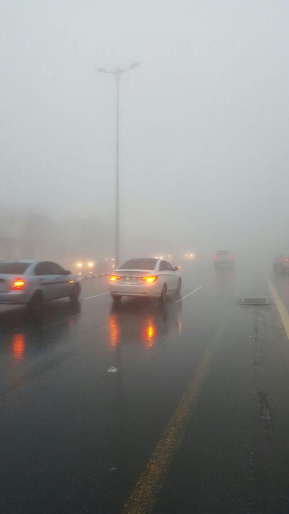 أمطار الخير والبركة على منطقة عسير اليوم السبت