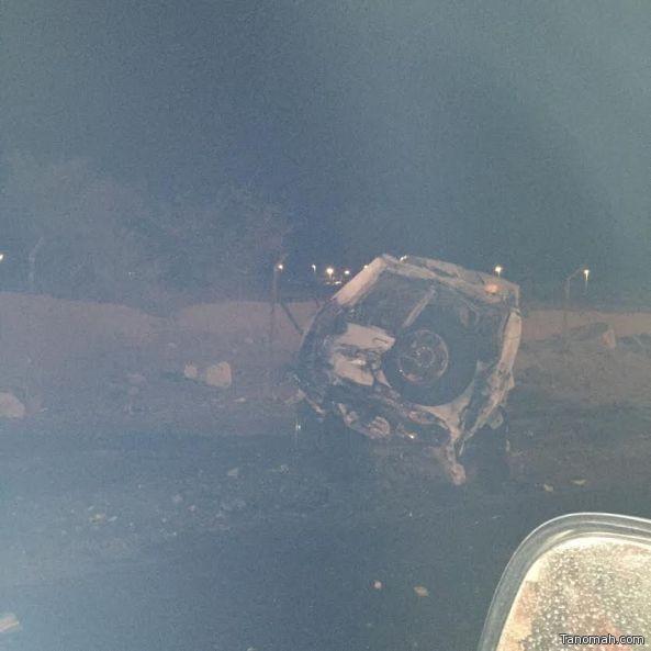 وفاة وإصابة 15 شخصاً في حادث تصادم بعسير