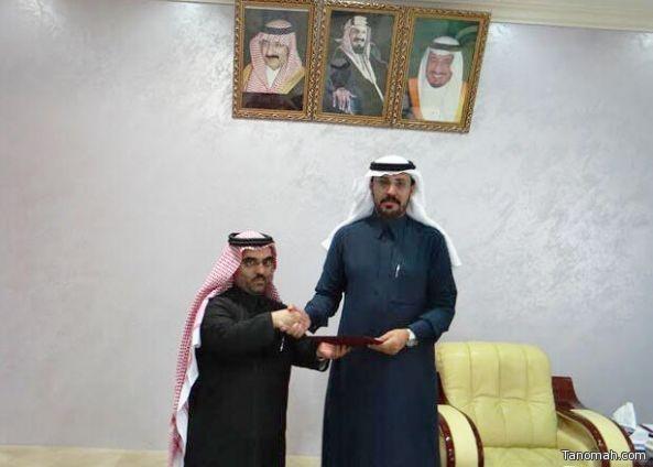 """بلدية محافظة تنومة تكرم""""صحيفة تنومة"""""""