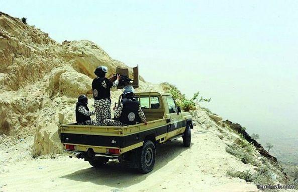 جازان: دوريات المجاهدين تحبط تهريب كمية من الذخيرة