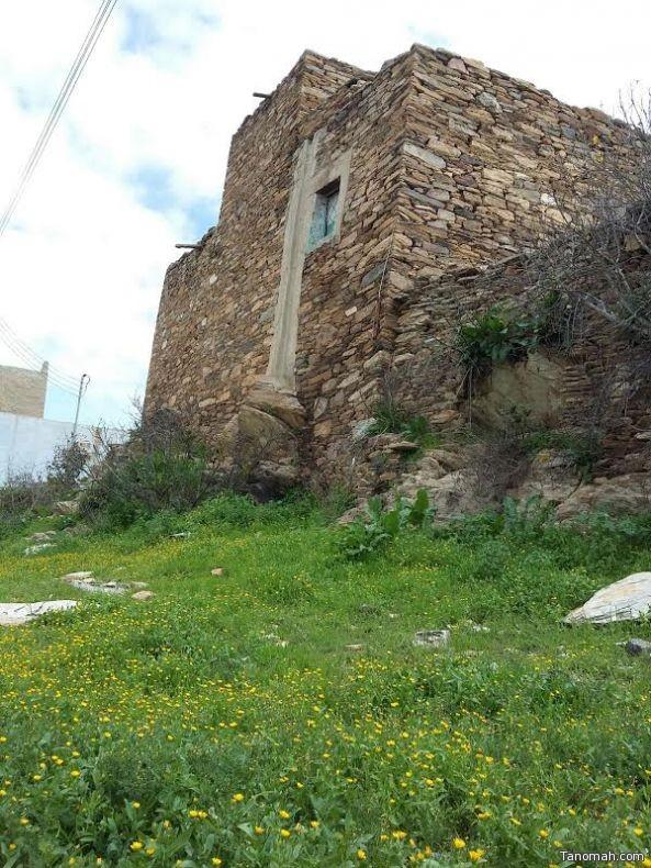 """قرية """"القذال"""" لوحة فنية أمتزجت فيها الخضرة بالتراث"""