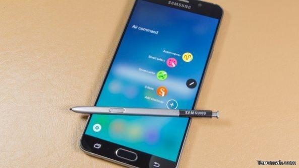 سامسونج تعيد تصميم مكونات جالكسي نوت 5 الداخلية لمعالجة مشكلة القلم