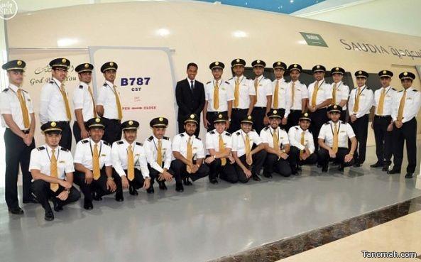 الخطوط السعودية تؤهل 282 ملاحاً للعمل على متن طائراتها الجديدة
