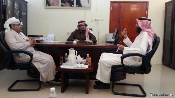 مكتب العمل بالنماص في زيارة للبريد ضمن مبادرة التشاركية مع الجهات الحكومية
