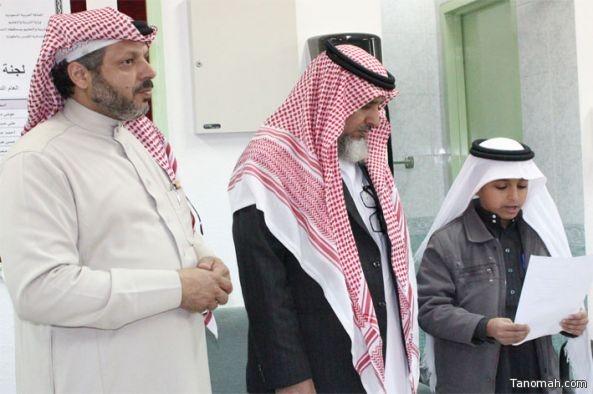 مدير تعليم النماص يزور أبناء المرابطين في مدارسهم