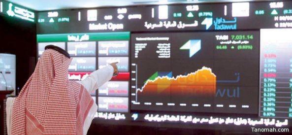 الأسهم السعودية تغلق على ارتفاع بـ133.33 نقطة