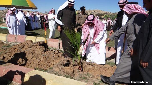 #الهزاني يدشن أسبوع الشجرة في #تنومة