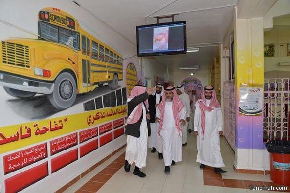 مدير تعليم النماص في زيارة تفقدية لمجمع حلباء للبنات
