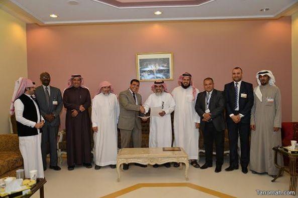 تعليم النماص يوقع عقد شراكة مع المستشفى السعودي الألماني