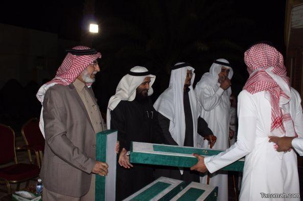 أهالي تنومة يكرمون مجلس الأهالي ويشيدون بدورة في خدمة #تنومة