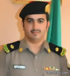 ترقية مدير شرطة تنومة سعيد الشهراني الى رتبة مقدم