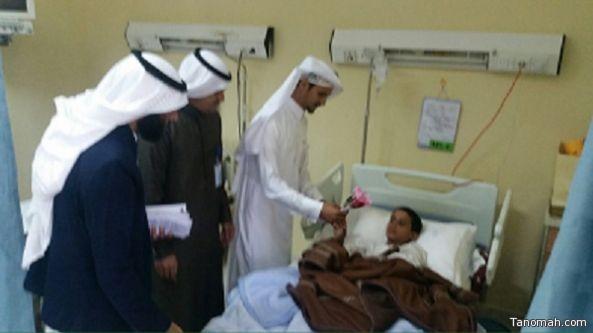 مستشفي العلاية العام يحتفل باليوم الخليجي لحقوق المريض