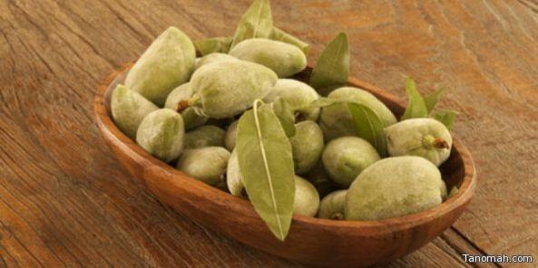 فوائد اللوز الأخضر الصحية والعلاجية