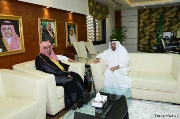 """نائب وزير #الخدمة المدنية ا.عبدالله الملفي يجتمع بوفد #ديوان_المظالم لمناقشة مبادرة """"تاج"""""""