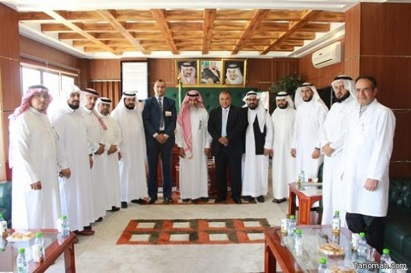 مدير تعليم النماص يستقبل وفداً من المستشفى السعودي الألماني لتفعيل الشراكة