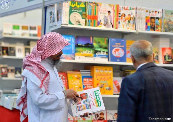 صور من معرض الكتاب المقام في العاصمة الرياض
