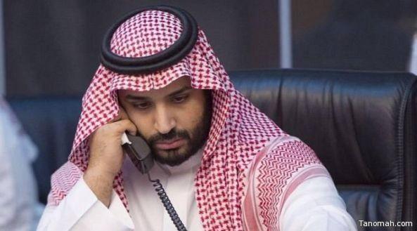 ولي ولي العهد يجري اتصالاً هاتفيًا بشيخ الأزهر