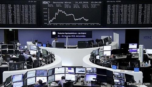 هبوط الأسهم الأوروبية بعد انفجاري مطار بروكسل