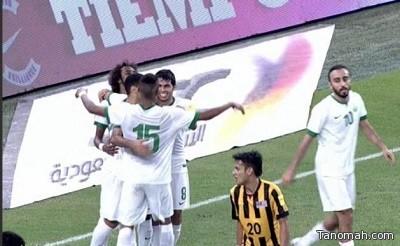 «الأخضر» يتأهل للتصفيات النهائية لكأس العالم بهدفين في ماليزيا